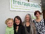 Andrea Prantl, Christine Rehm und Christl Hackspiel