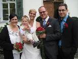 Barbara Mattis und Tobias Walter aus Bludenz haben in der Villa Thüringen geheiratet