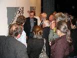 Baudirektor Bernhard Fink erläutert den Interessierten den Stand der Planungen.