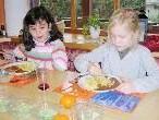 Bei der Schülerbetreuung in den Herbstferien wird auch ein Mittagessen angeboten.