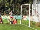 Bereits nach 6 Minuten schießt Emir Adzamija das 1:0 für den FC Viktoria Bregenz.