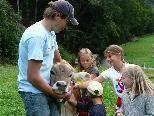 Besuch auf dem Bauernhof