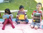 Bilderbuchpicknick im Kindergarten