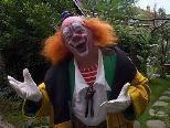 "Clown Walter Galetti am 16.10. im ""mihus"" Altach"