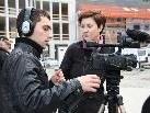 Cornelia Müller unterstützte die Jugendlichen bei der filmischen Umsetzung ihrer Ideen.