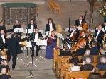 Das Kammerorchesters Arpeggione wurde vom Publikum gefeiert.