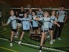 Das wöchentliche Badmintontraining in der Götzner Sporthalle macht sichtbar viel Spaß!