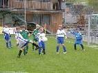 Die Andelsbucher Youngsters (in weiß/blau) verloren das Spitzenspiel mit 1:2.