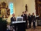 Die Familie Breuß musizierte in St. Corneli.