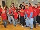 Die Jugendlichen trafen sich zum Vorbereitungstreffen zusammen mit ihren Jugendleitern im Rathaus