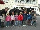 Die Kindergartenkinder vom Blattur feiern auch mit beim Götzner Mostfest!