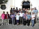 Die Reisegruppe von Senioren-Aktiv-Bürserberg genoss den schönen Tagesausflug an der Oberschwäbischen Barockstrasse.