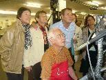 Die Senioren aus Altach waren Begeistert über die Buchdruckkunst
