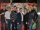 Die Sieger des Graffiti Contest 2010 mit Mathias Bildstein, Kathrin Mair und Oliver Mössinger