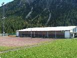 Die Tennishalle in Mittelberg-Bödmen wird abgebrochen.