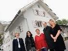 Die Vorstandsmitglieder des Literaturhauses Schanett sind Aiga Mathis, Karin Valasek, Elisabeth Kalb, Peter Natter und Evelyn Brandt.