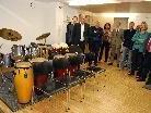 Die beiden neuen Schlagzeugräume sind technisch hochwertig ausgestattet.