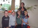 Direktorin Sabine Bachmann und ihre Schüler luden zum Tag der offenen Tür.