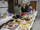 Ein riesiges Kuchenangebot erwartet Sie
