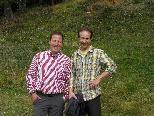 Harald und Markus sind 2 eifrige Wanderer