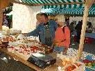 Herrliches Wetter herrschte beim großen Herbstmarkt in Schruns.