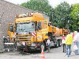 In der Autobahnmeisterei Hohenems sind rund 40 Spezialfahrzeuge stationiert.