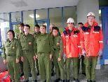 Jugendmannschaft der Feuerwehr Wolfurt im Übungseinsatz