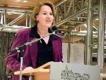 """Landesrätin Andrea Kaufmann bei der Eröffnung von """"Österreich liest"""""""