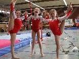 Mädchen der Turnerschaft Rankweil freuen sich auf den Heimauftritt.