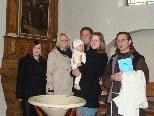 Mia Elisa erhielt in Schruns das Sakrament der Taufe.