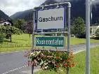 Ortseingang von Gaschurn und Partenen am 31. August 2010.