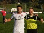 Selcuk Olcum (li.) und Fabian Fetz waren die Matchwinner für den FC Egg.