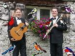 Singing Birds so nennt sich das Duo Martin Vallaster (Flutes)  und Gerhard Ganahl (Guitar)