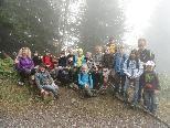 Volksschule Winsau wanderte auf die Staufenspitze