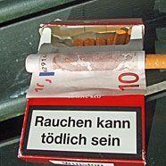 Zigaretten können weit teurer kommen als man denkt.