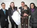 Amely Konzett wurde in der St. Martinskirche getauft
