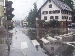 An der Kreuzung Eisengasse bleibt die Ampel den ganzen Tag über eingeschaltet - unverständlich für Ulrich Rhomberg.