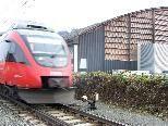 Bild: Im Umfeld der Vorarlberghalle in Tosters soll eine ÖBB-Haltestelle errichtet werden.