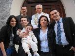 Christof Krasniqi wurde in der Dreifaltigkeitskirche getauft
