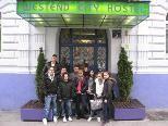 Das OJa Team bezog Quartier im Hotel Westend