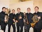 Das Sonus Brass Ensemble begeisterte mit seinen Darbietungen.