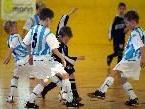 Der Fußballnachwuchs kämpft am Wochenende in der Thüringer Sporthalle.