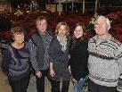 Drei Generationen: Christine, Erich, Karin, Kerstin und Josef Waibel.