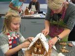 Ein leckeres Lebkuchenhaus selbst gebacken