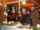 Eine Fülle kreativer Kostbarkeiten warten auf die Besucher des Altacher Weihnachtsmarktes.