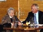 Eleonore Schönborn beim Interview mit Adi Fischer.