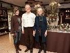 Freuten sich über die vielen Besucher: Werner und Hedi Waibel mit Petra Binder (l.)