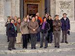 Gruppenbild vor der Kirsche San Giovanni in Lateran