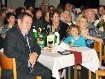 Helmut Leite mit Gattin Imelda bei dem Fest zu Ehren des verdienten Altbürgermeisters.