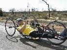 Im Oktober radelte Bonadimann beim RAAUS 2010 per Handbike durch Australien.